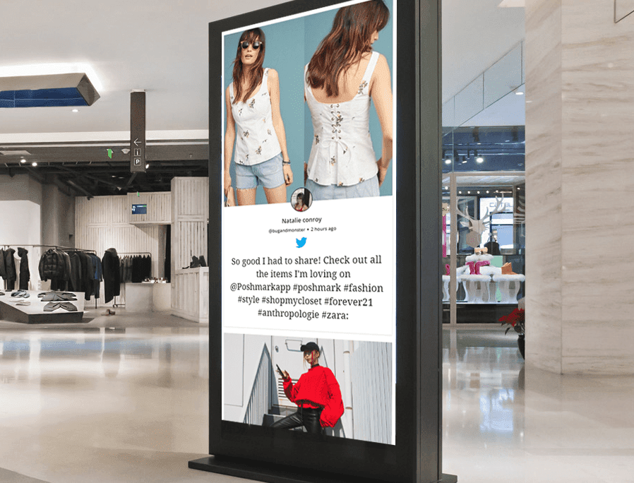 Top 5 Content Ideas For Fashion Retail Store Digital Signage