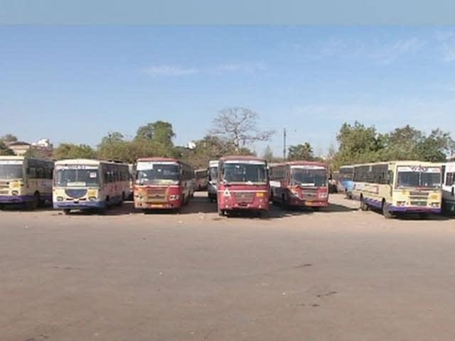 Gujarat State Transport Employees on Strike; Wage Hike Demand Cripples Bus Service