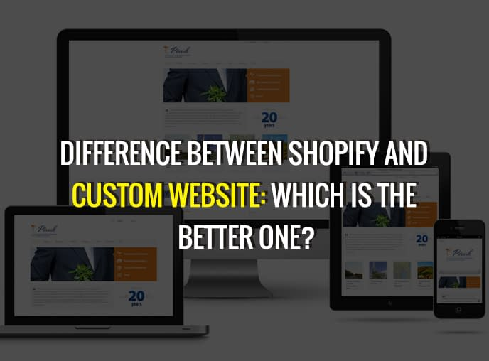 Difference Between Shopify And Custom Website: Which Is The Better One