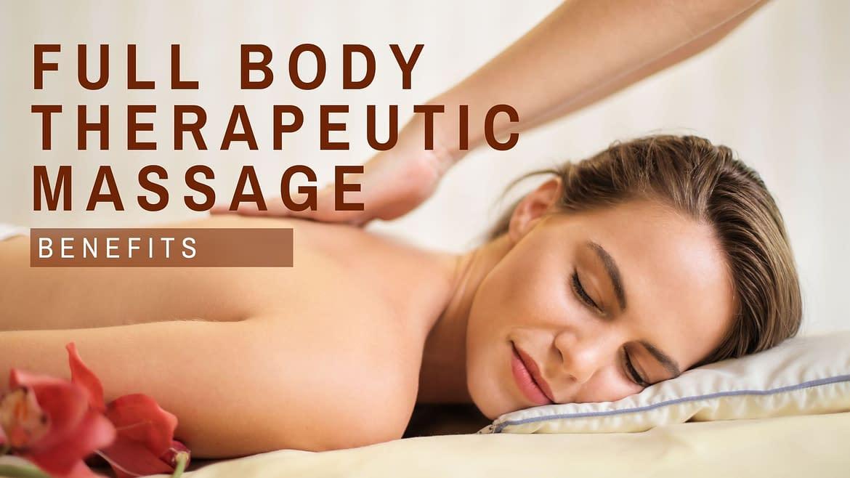 Massage Gold Coast Offers Full Body Therapeutic Massage