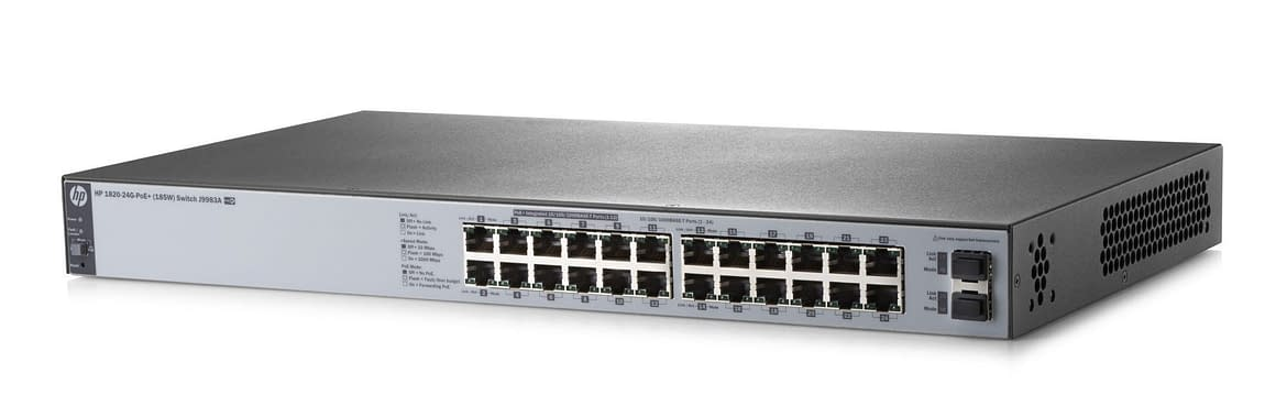 Technical Specifications of HPE Office Connect 1820 24G PoE+ Switch